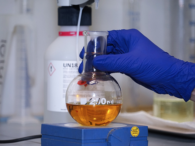 Oelanalyse im Labor